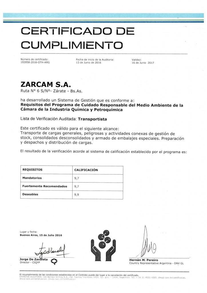 CERTIFICADO PCRMA 2016-2017