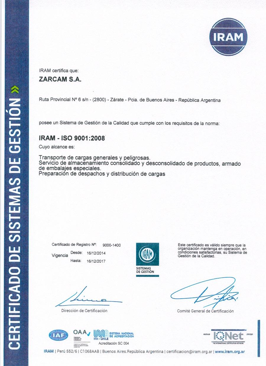 ISO-9001-LOGÍSTICA